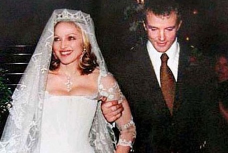 Madonna And Guy Ritchie Exchanged Their Wedding Vows In A 19th Century Castle The Scottish Highlands December 2000 Before 55 Guests