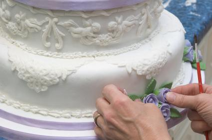 Cake Decorating Pre Made Icing : Complete Wedding Budget Guide - Part 3: The Cake