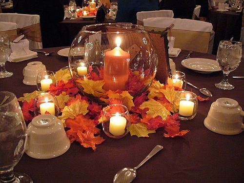 Ideas For Fall Wedding Centerpieces: Fall Wedding Ideas