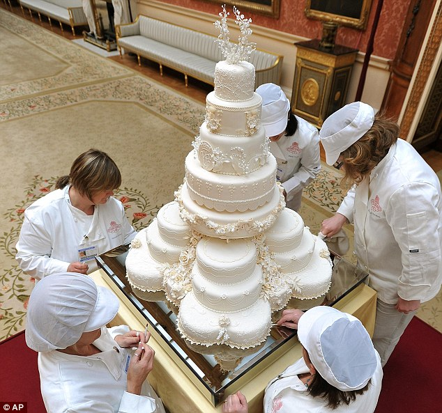 william and kate wedding cake how to your own royal wedding in 7 simple steps 27483